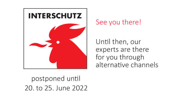 Teaser Interschutz postponed - digital exhibition folder and alternative consulting