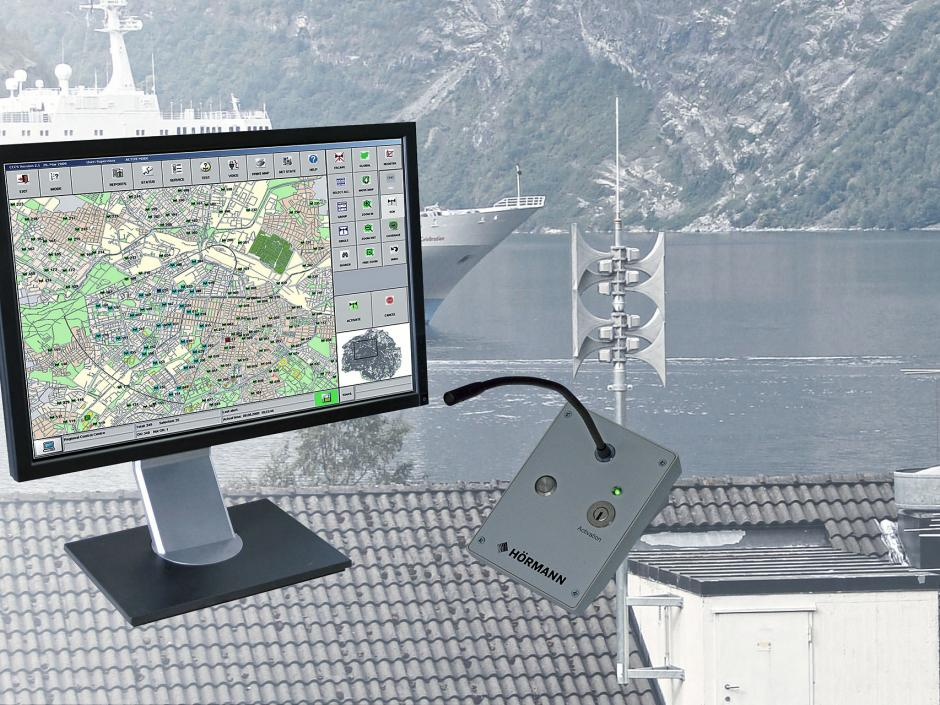 CCCS siren control software
